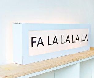 DIY Cardboard Lightbox