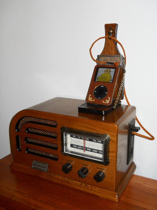 Decopunk iPod rig