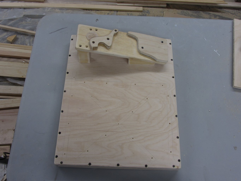 Tilt the Sander's Support Plate