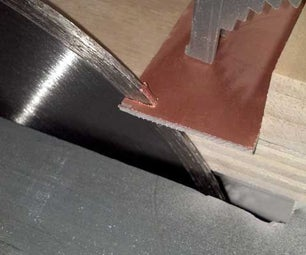 Easily Cut PCB With Table Saw
