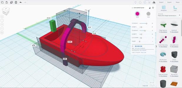 Boat Design: Part 6 - Adding Pegs
