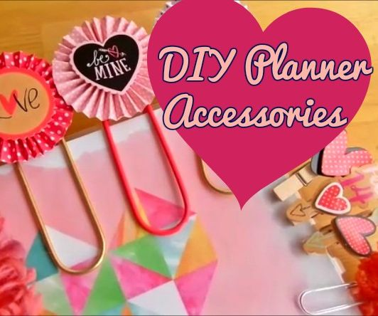 DIY Planner Accessories