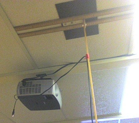 LCD Projector Mount for Cheapish...