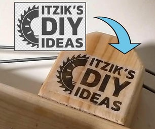 2 Ways to Transfer Logo / Photo Onto Wood With Inkjet or Laser Printer DIY