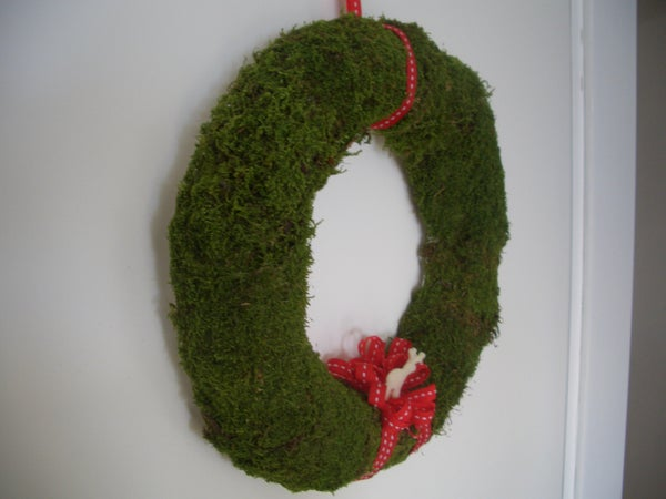 DIY Moss Wreath