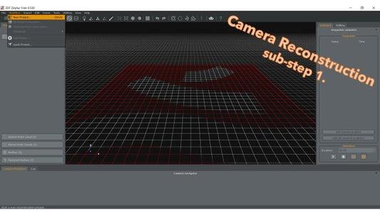 Create Your Model in 3DF Zephyr