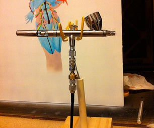 Quick, Cheap and Easy Airbrush Holder!