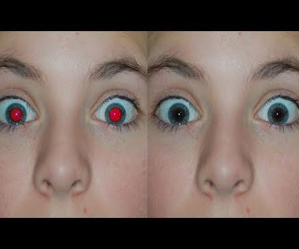 Red Eyes Removal With Photoshop