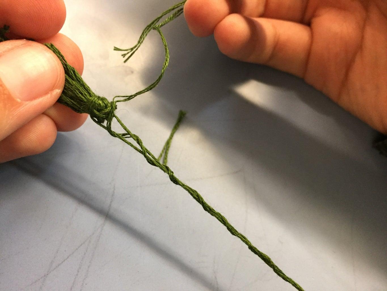 Attaching the Tassel