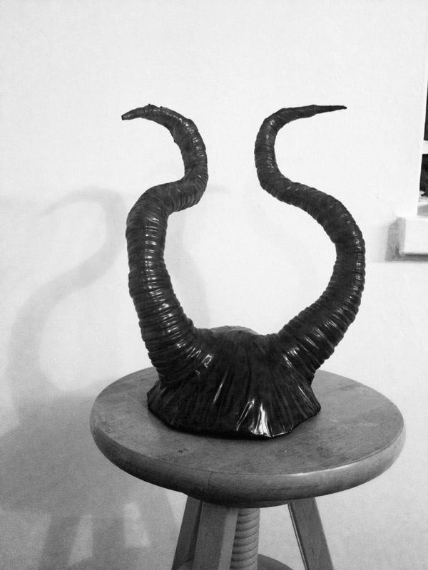 Maleficent Antlers for Halloween