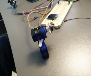 LinkIt ONE Joystick Laser Pointer