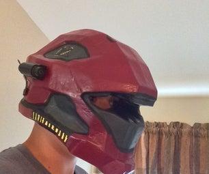 Phase 1 & 2 -  the Pepakura Helmet