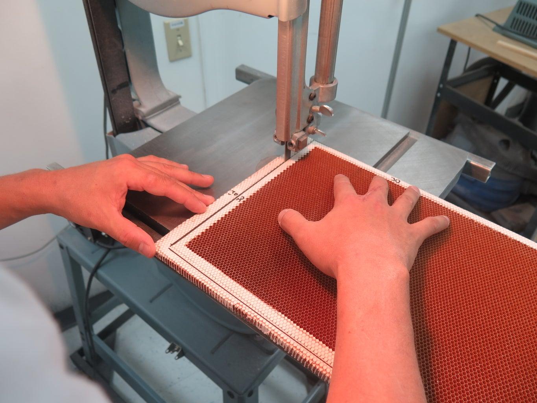 Machine Honeycomb