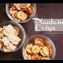 Plantain Crisp (Oven Baked)