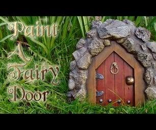Paint a Fairy Door
