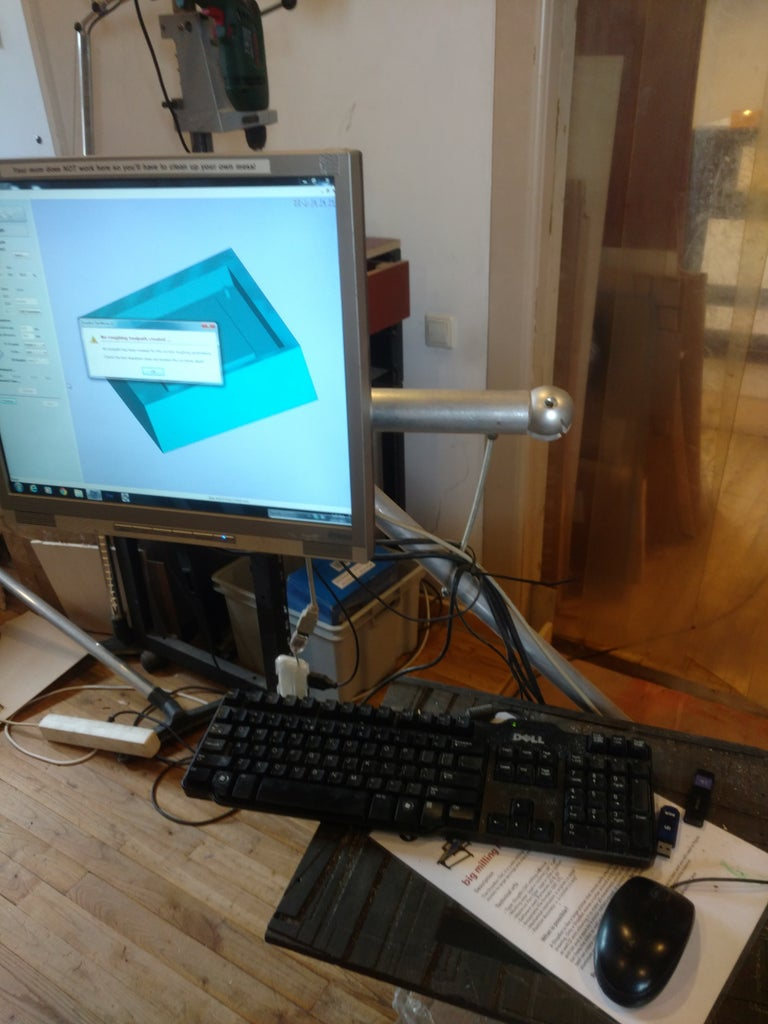 CNC PC Hardware Holders (update)
