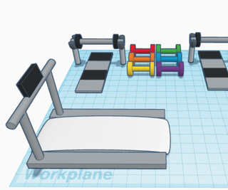 Tinkercad Mini Gym