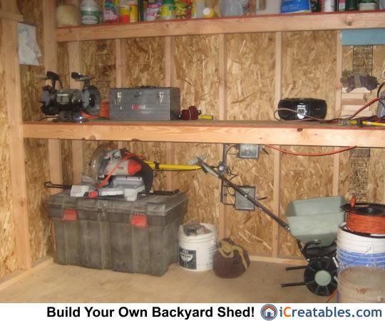 Garden Shed Storage Ideas - Backyard Storage Shed