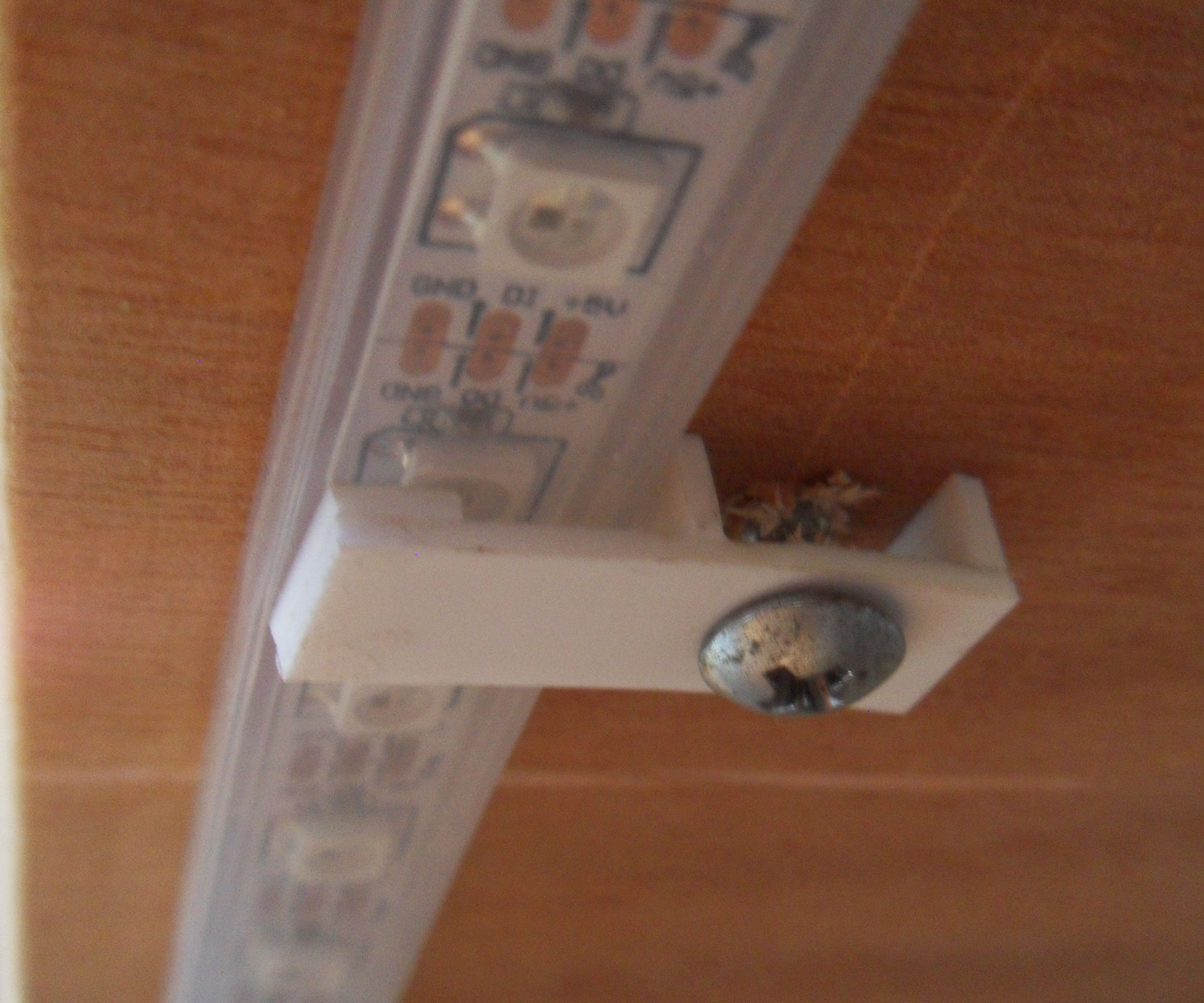 Styrene LED Strip Brackets