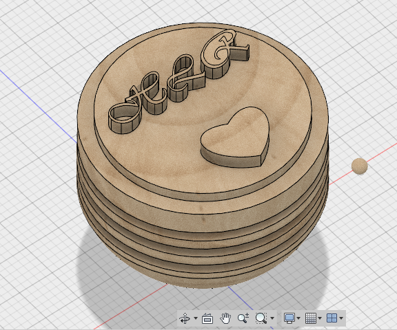 Make the 3D Model of Top With Autodesk Fusion 360