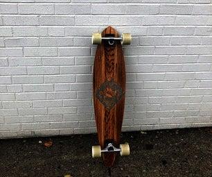 Fusion 360 Pintail Longboard