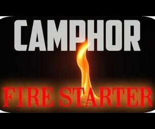 Camphor Fire Starter
