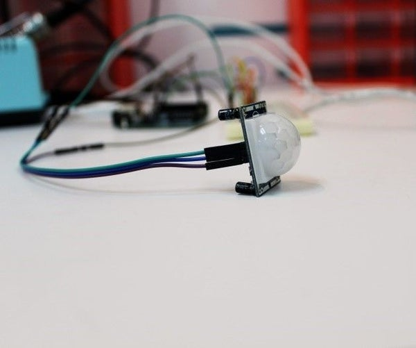 Arduino Motion Detection Simple Project