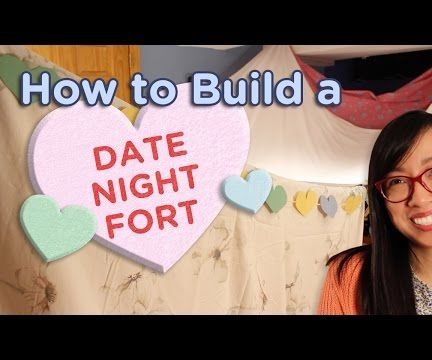 How to Build a Romantic Date Night Fort