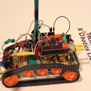 Arduino Controlled Bluetooth-bot