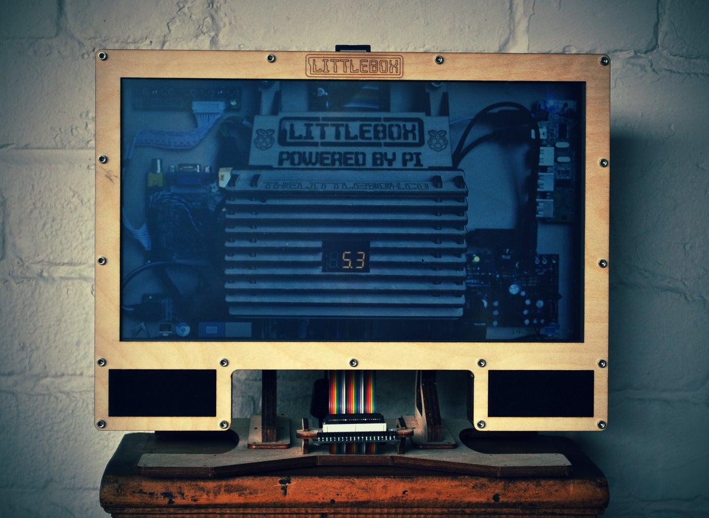 The LittleBox   a Raspberry Pi PC
