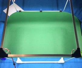 Simple LED Lightbox Cube