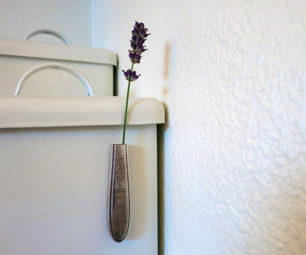 Make Magnetic Vases From Silverware