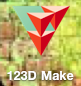 Once You've Converted Your Sketches File to a Stl File, Open Up 123D Make and Import Your Stl File.
