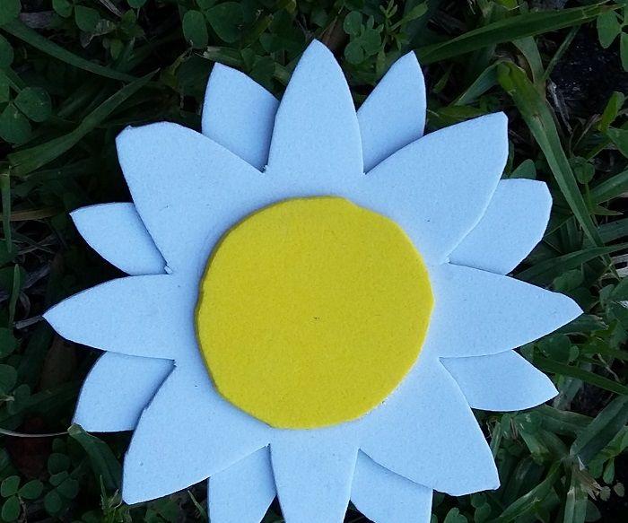 Camomile Flower Brooch