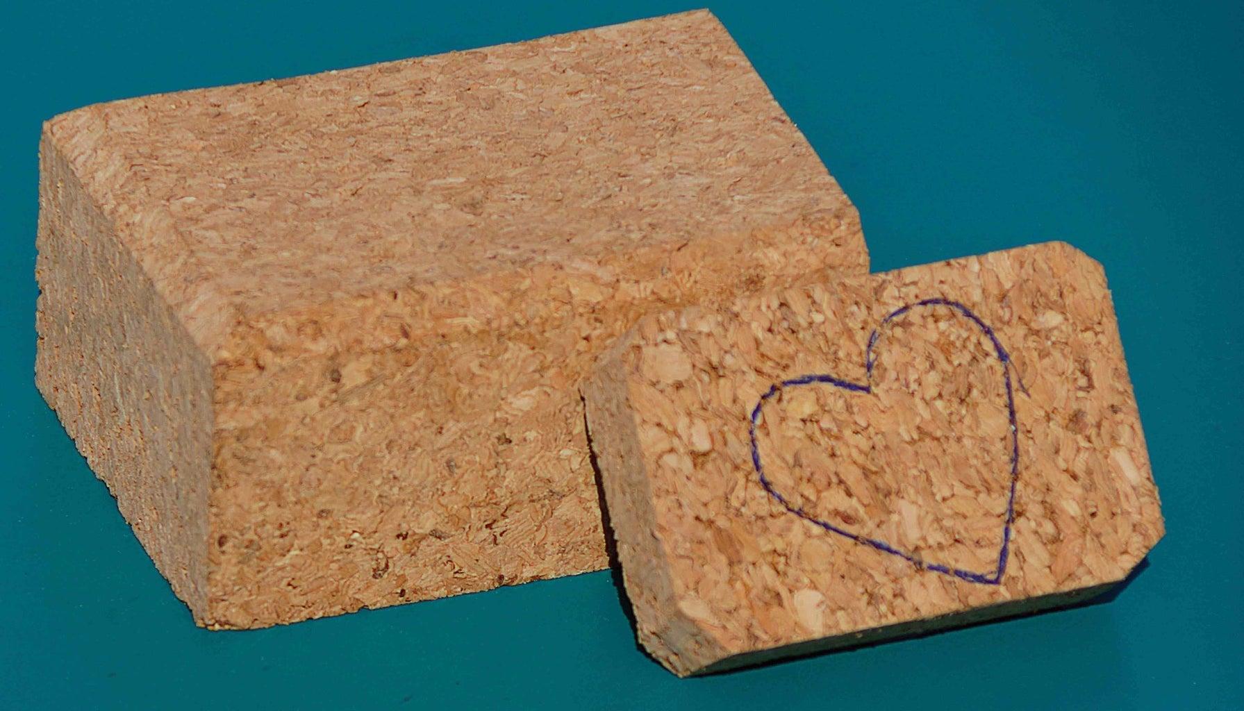 Give the Cork a Heart Shape