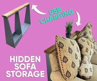 Hidden Sofa Storage