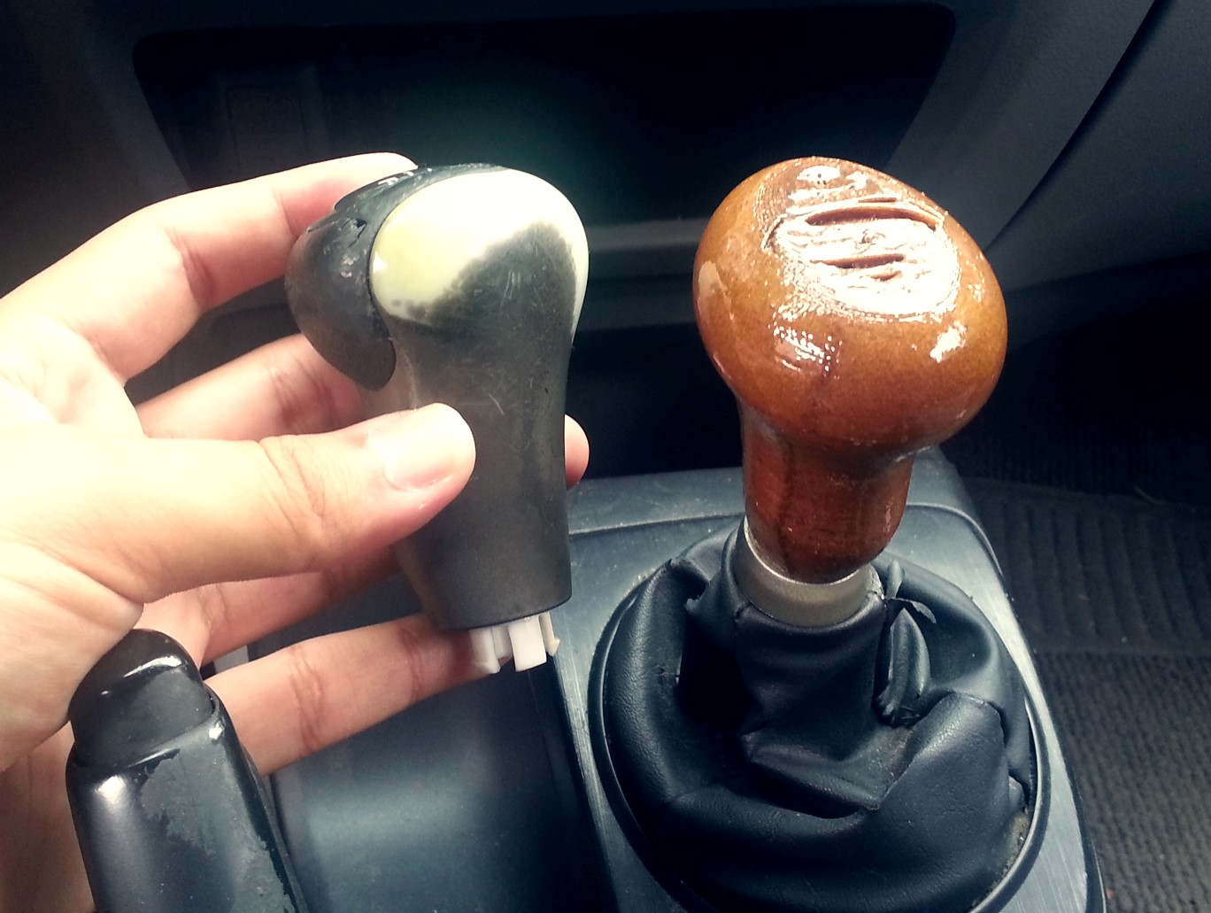 Customized 3D Printed Gear Shift Knobs
