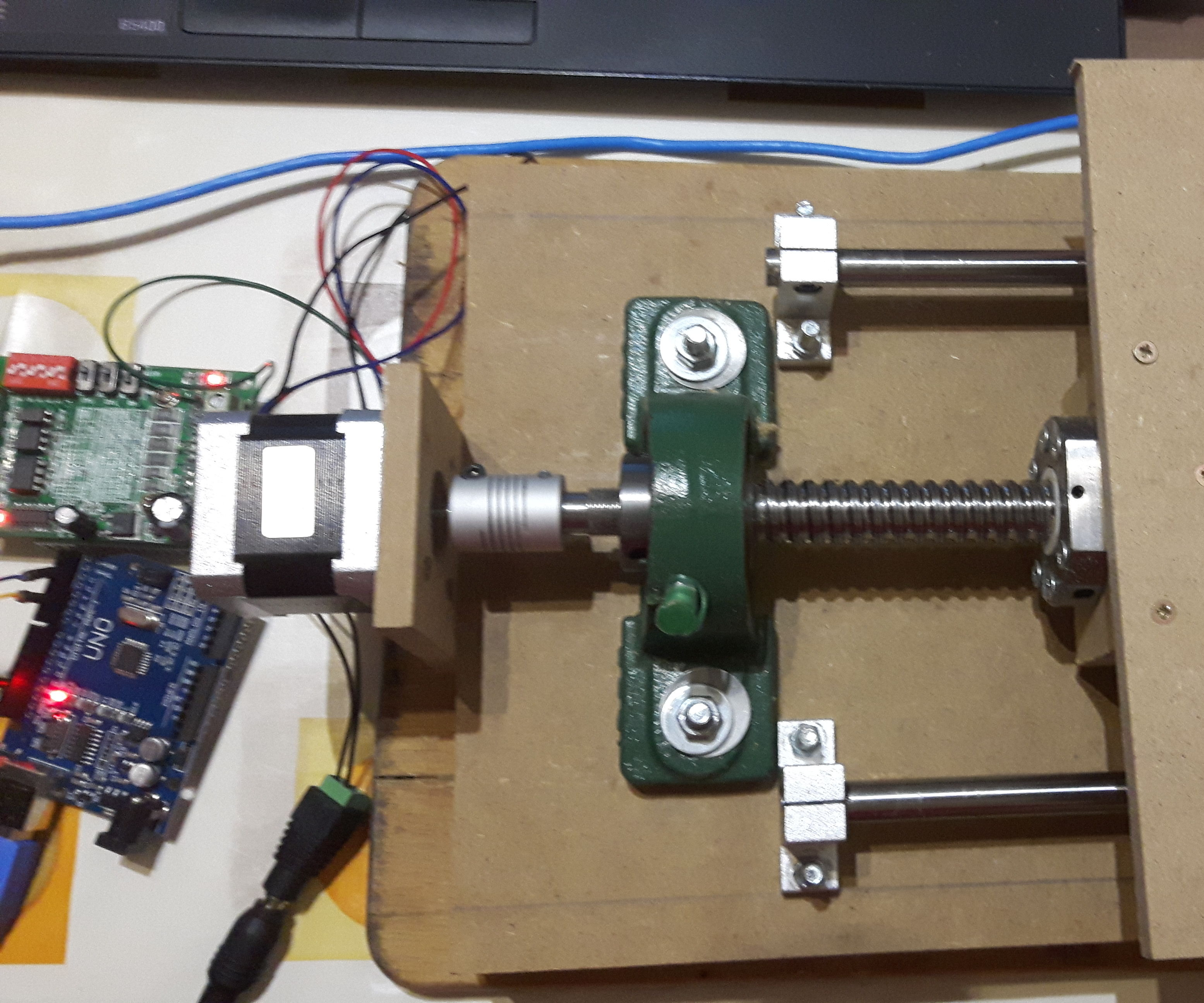 Homemade CNC milling machine v2 - arudino uno GRBL
