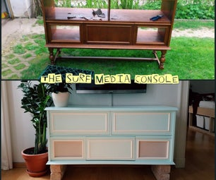 Surf Media Console / Stereo Cabinet
