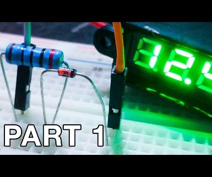 Using Zener Diodes: Voltage Regulator (Part 1 and 2)