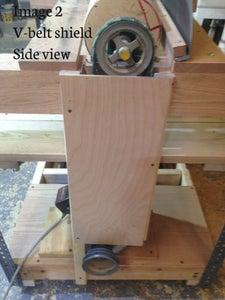Building the V Belt Shield