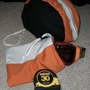 Deluxe Ski Goggle Case