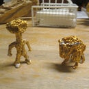 Tin Foil Figurines