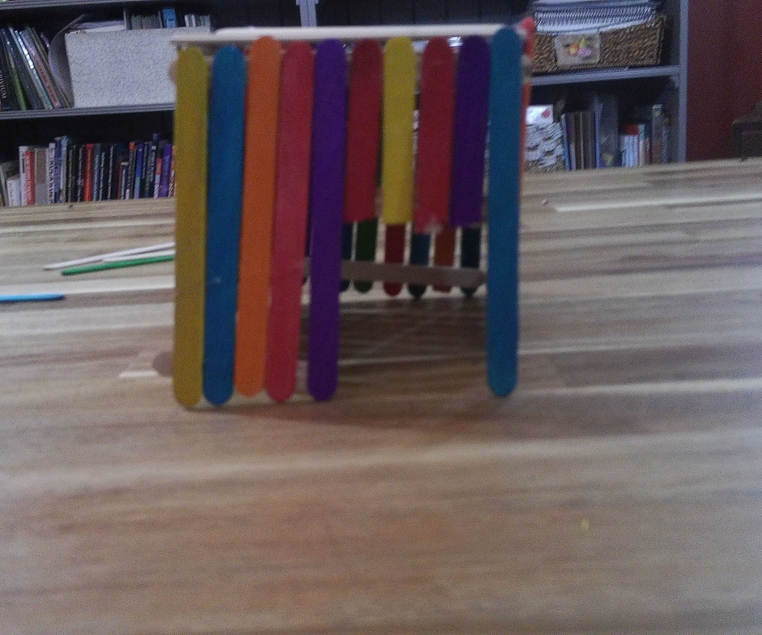 Easy Popsicle Stick Mini Doll House
