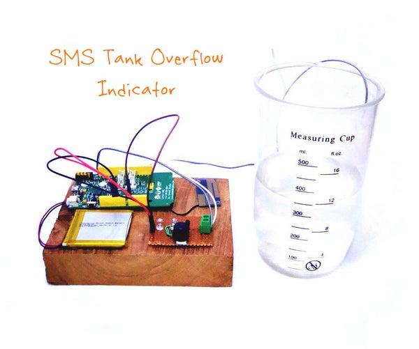 SMS Tank Overflow Alert