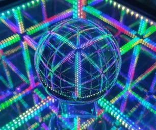 LED声响反应无限无限立方体终点表