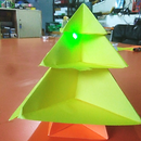 Origami Christmas Tree (Paper Circuit)