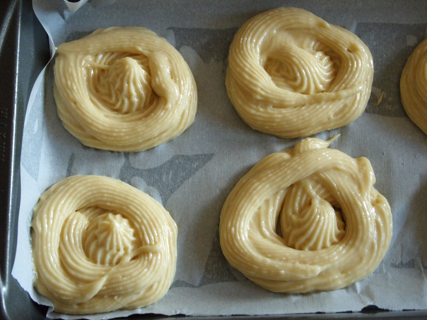 Piping and Baking the Paleo Cinnamon Rolls