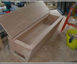 Tool-box Seat for Your Van
