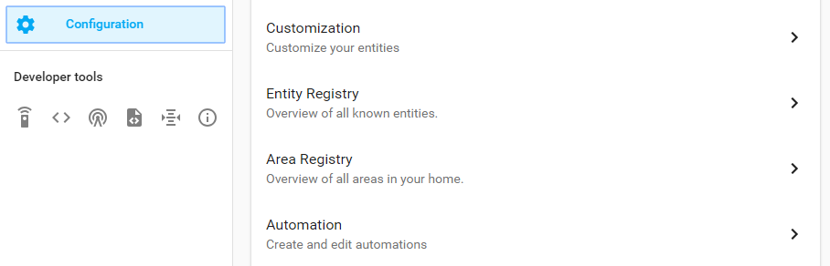 Setup the Automation in Home Assistant